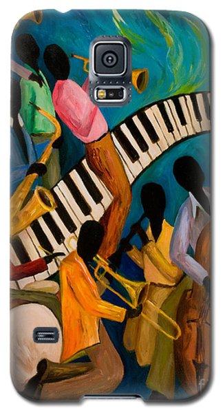 Jazz On Fire Galaxy S5 Case by Larry Martin