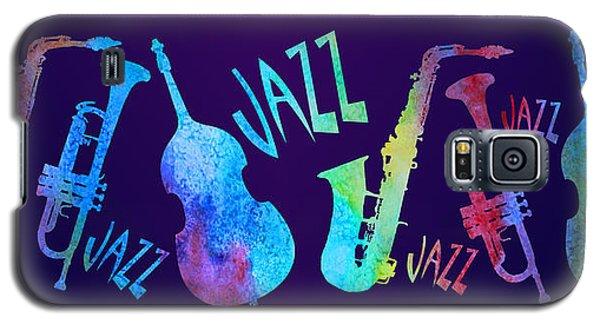Jazzy Combo Galaxy S5 Case by Jenny Armitage