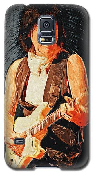 Jeff Beck Galaxy S5 Case by Taylan Apukovska