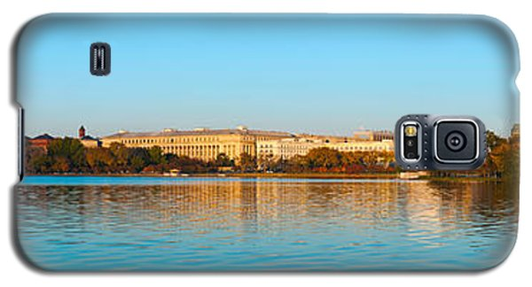Jefferson Memorial And Washington Galaxy S5 Case by Panoramic Images