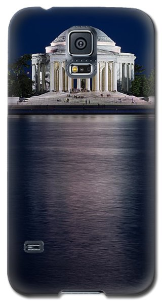 Jefferson Memorial Washington D C Galaxy S5 Case by Steve Gadomski
