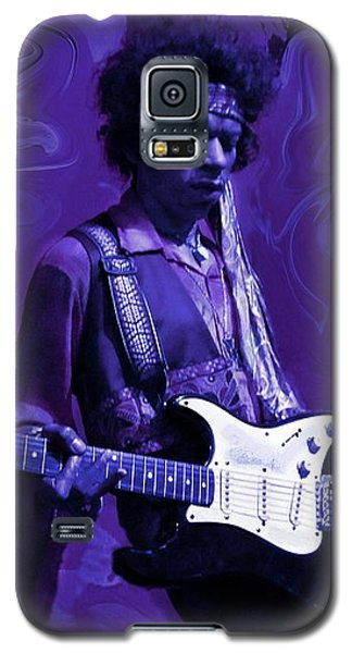 Jimi Hendrix Purple Haze Galaxy S5 Case by David Dehner