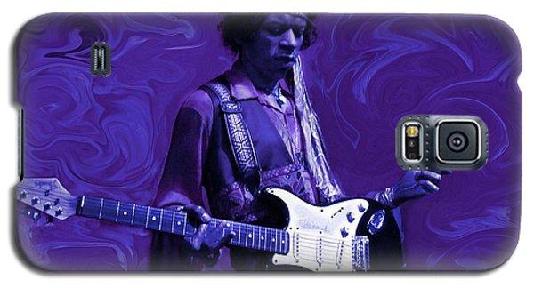 Jimi Hendrix Purple Haze Galaxy S5 Case by David Dehner