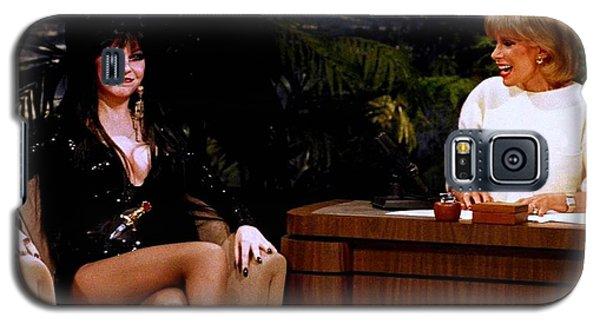 Joan Rivers And Elvira Galaxy S5 Case by Brian Benjamin