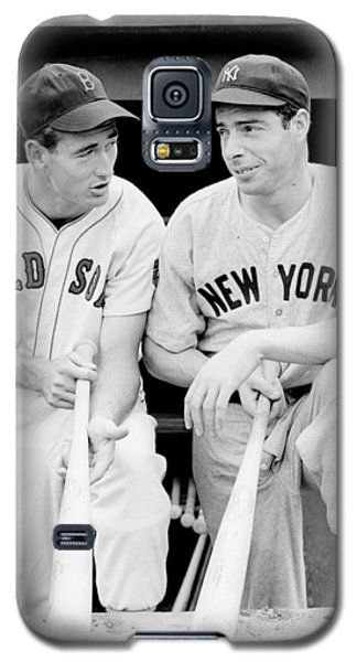 Joe Dimaggio And Ted Williams Galaxy S5 Case by Gianfranco Weiss