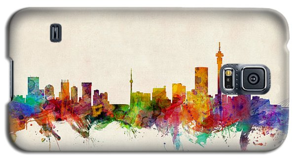 Recently Sold -  - Buy Galaxy S5 Cases - Johannesburg South Africa Skyline Galaxy S5 Case by Michael Tompsett