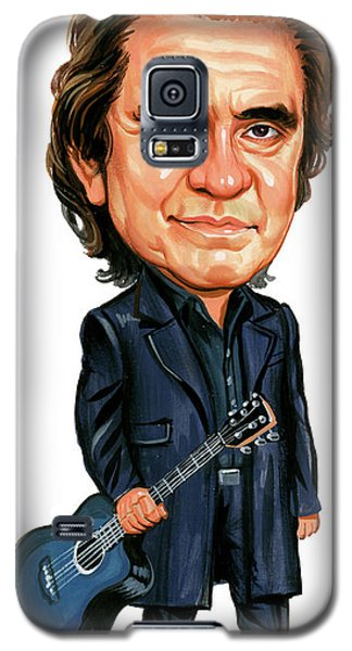 Johnny Cash Galaxy S5 Case by Art