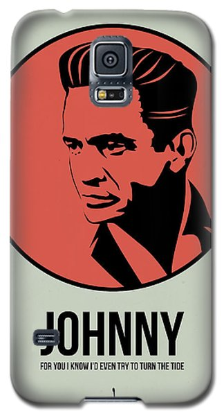 Johnny Poster 2 Galaxy S5 Case by Naxart Studio