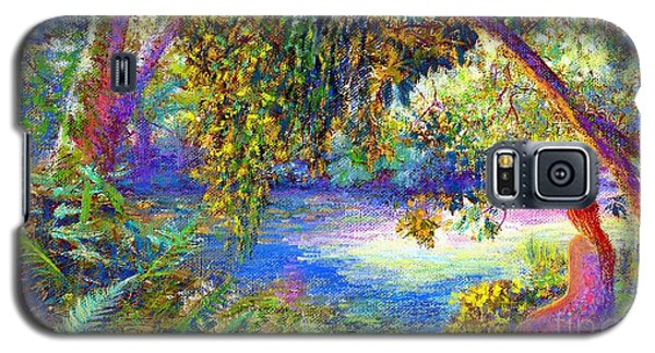 Impressionism Galaxy S5 Cases - Just Be Galaxy S5 Case by Jane Small