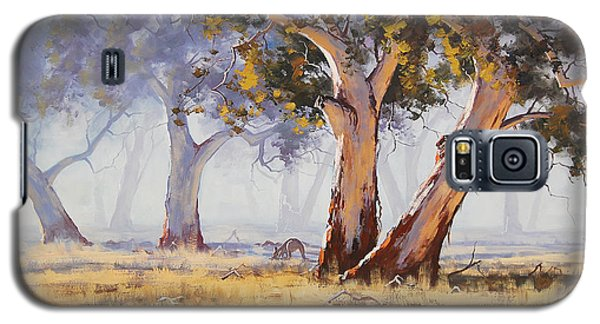 Kangaroo Grazing Galaxy S5 Case by Graham Gercken