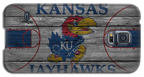 Kansas Jayhawks Galaxy S5 Case by Joe Hamilton