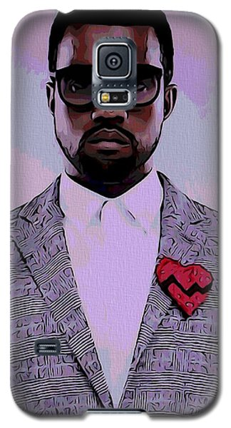 Kanye West Poster Galaxy S5 Case by Dan Sproul