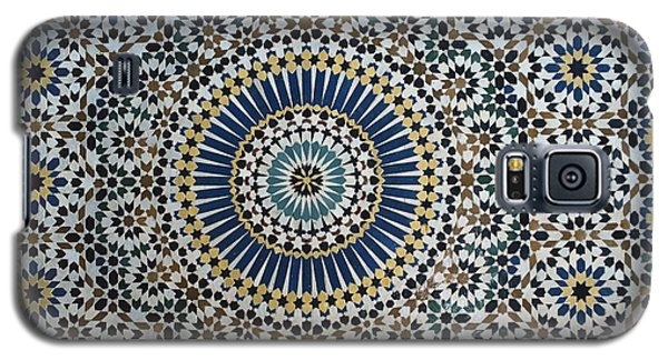Ceramics Galaxy S5 Cases - Kasbah of Thamiel glaoui zellij tilework detail  Galaxy S5 Case by Moroccan School