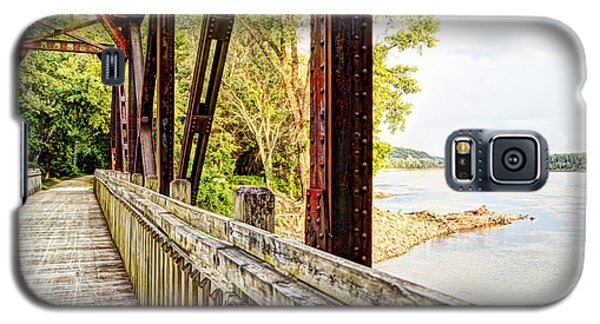 Katy Trail Near Coopers Landing Galaxy S5 Case by Cricket Hackmann