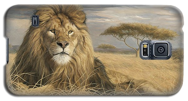 King Of The Pride Galaxy S5 Case by Lucie Bilodeau