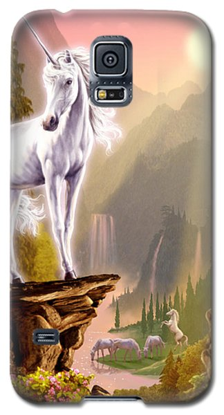 King Of The Valley Galaxy S5 Case by Garry Walton