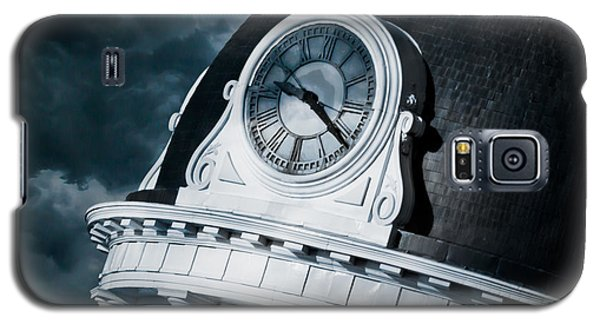 Galaxy S5 Cases - Kingstons Clock Galaxy S5 Case by Michel Soucy