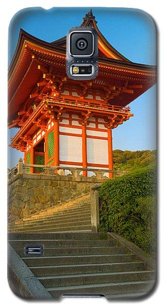 Architecture Galaxy S5 Cases - Kiyomizudera Temple Galaxy S5 Case by Sebastian Musial