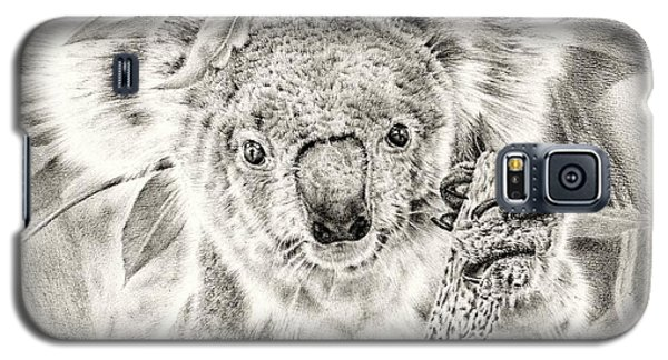 Koala Garage Girl Galaxy S5 Case by Remrov