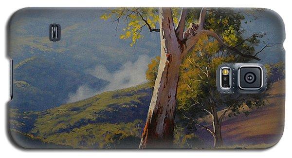 Koala In The Tree Galaxy S5 Case by Graham Gercken