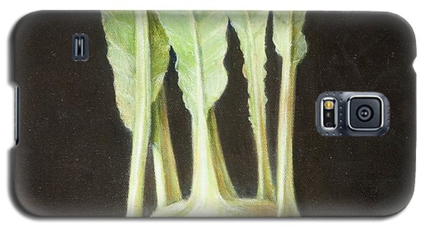 Kohl Rabi, 2012 Acrylic On Canvas Galaxy S5 Case by Lincoln Seligman