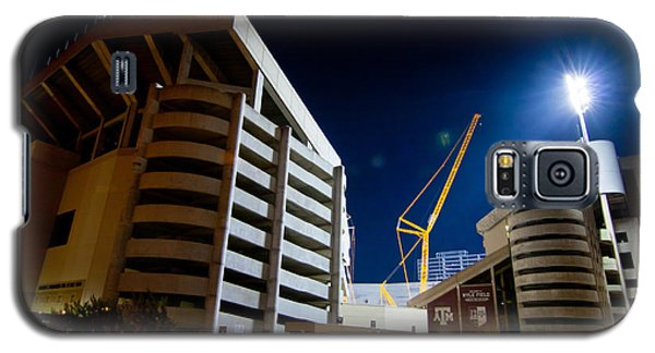 Kyle Field Construction Galaxy S5 Case by Linda Unger