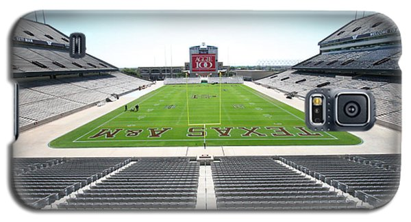 Kyle Field Galaxy S5 Case by Georgia Fowler