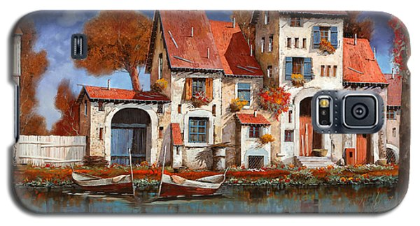 La Cascina Sul Lago Galaxy S5 Case by Guido Borelli