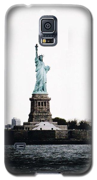 Lady Libery Galaxy S5 Case by Natasha Marco