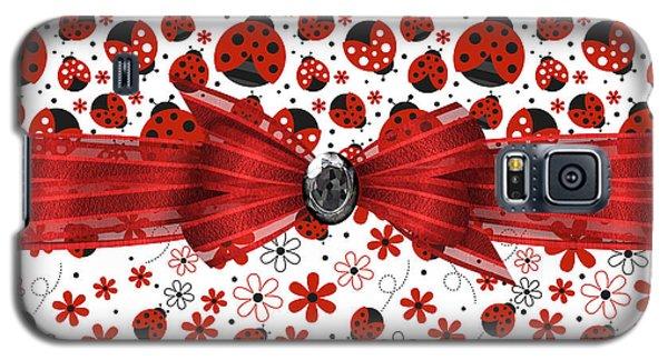 Ladybug Magic Galaxy S5 Case by Debra  Miller