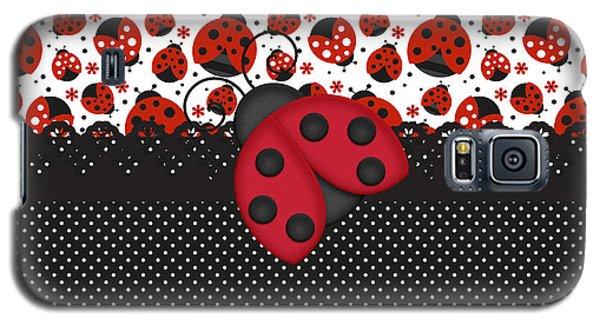 Ladybug Mood  Galaxy S5 Case by Debra  Miller