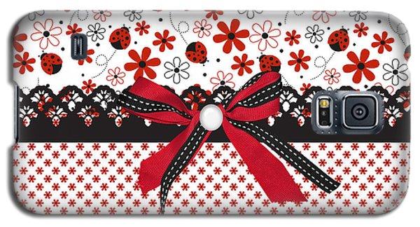 Ladybug Whisper  Galaxy S5 Case by Debra  Miller