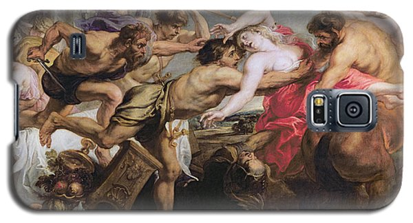 Lapiths And Centaurs Oil On Canvas Galaxy S5 Case by Peter Paul Rubens