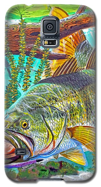Largemouth Bass Galaxy S5 Case by Carey Chen