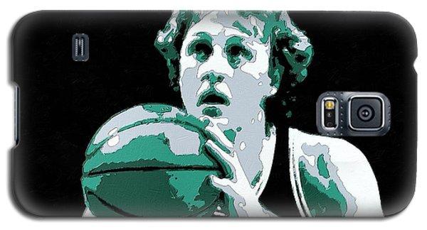 Larry Bird Poster Art Galaxy S5 Case by Florian Rodarte