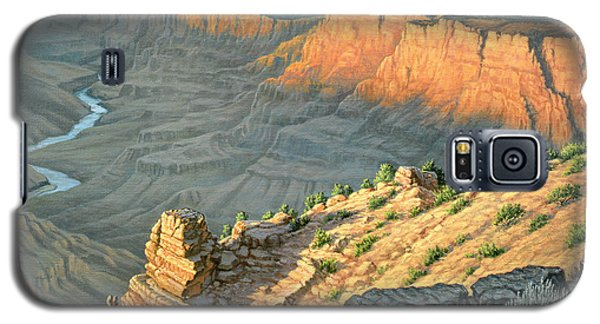 Late Afternoon-desert View Galaxy S5 Case by Paul Krapf