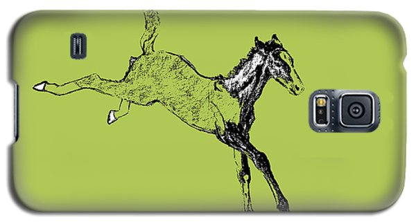 Drawings Galaxy S5 Cases - Leaping Foal Galaxy S5 Case by JAMART Photography