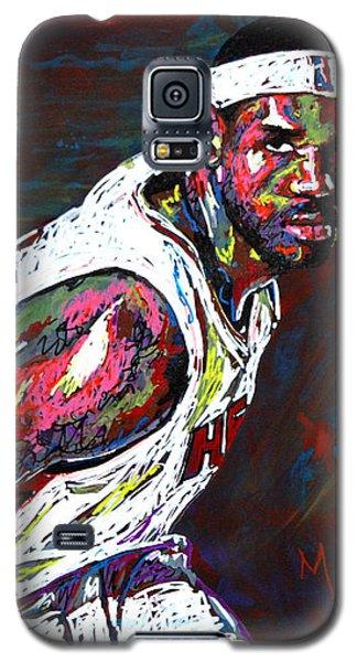 Lebron James 2 Galaxy S5 Case by Maria Arango