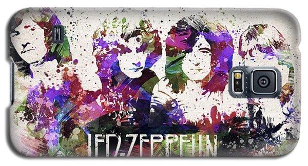 Led Zeppelin Portrait Galaxy S5 Case by Aged Pixel