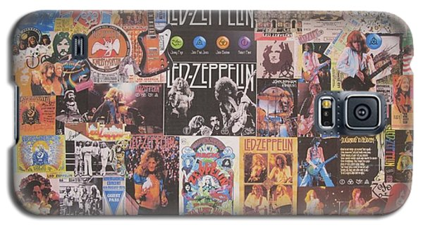 Led Zeppelin Years Collage Galaxy S5 Case by Donna Wilson