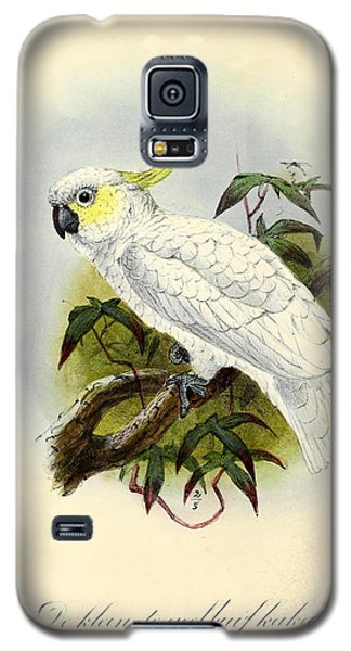 Lesser Cockatoo Galaxy S5 Case by J G Keulemans