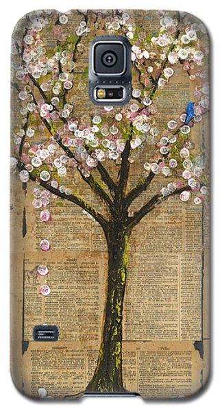 Tree Galaxy S5 Cases - Lexicon Tree of Life 3 Galaxy S5 Case by Blenda Studio
