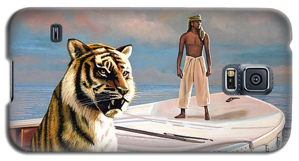 Popular Galaxy S5 Cases - Life Of Pi Galaxy S5 Case by Paul Meijering