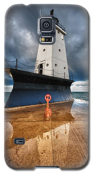 Light Galaxy S5 Cases - Lighthouse Reflection Galaxy S5 Case by Sebastian Musial