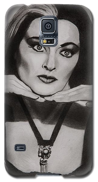 Lily Munster Galaxy S5 Case by Brian Broadway