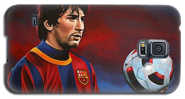 Lionel Messi  Galaxy S5 Case by Paul Meijering