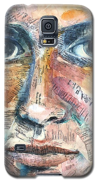 Mixed Media Galaxy S5 Cases - Listperson III Galaxy S5 Case by Patricia Allingham Carlson
