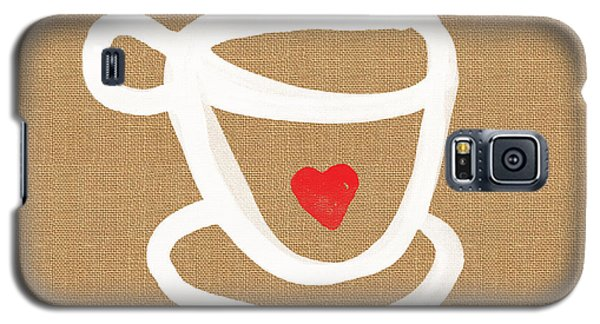 Little Cup Of Love Galaxy S5 Case by Linda Woods