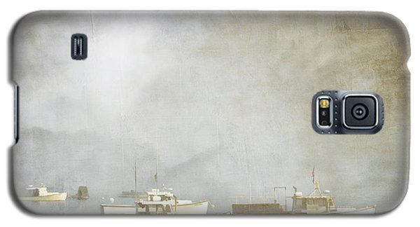 Lobster Boats At Anchor Bar Harbor Maine Galaxy S5 Case by Carol Leigh