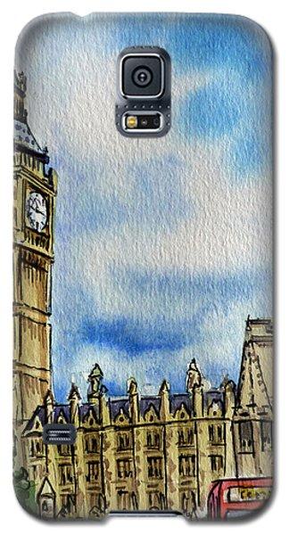 London England Big Ben Galaxy S5 Case by Irina Sztukowski